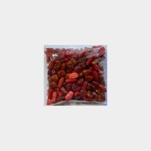 mix plastiche rosse