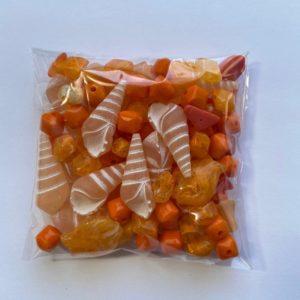 mix plastiche arancioni