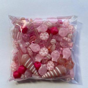 mix plastiche rosa